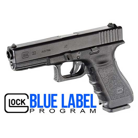 Glock Blue Label Program Logo