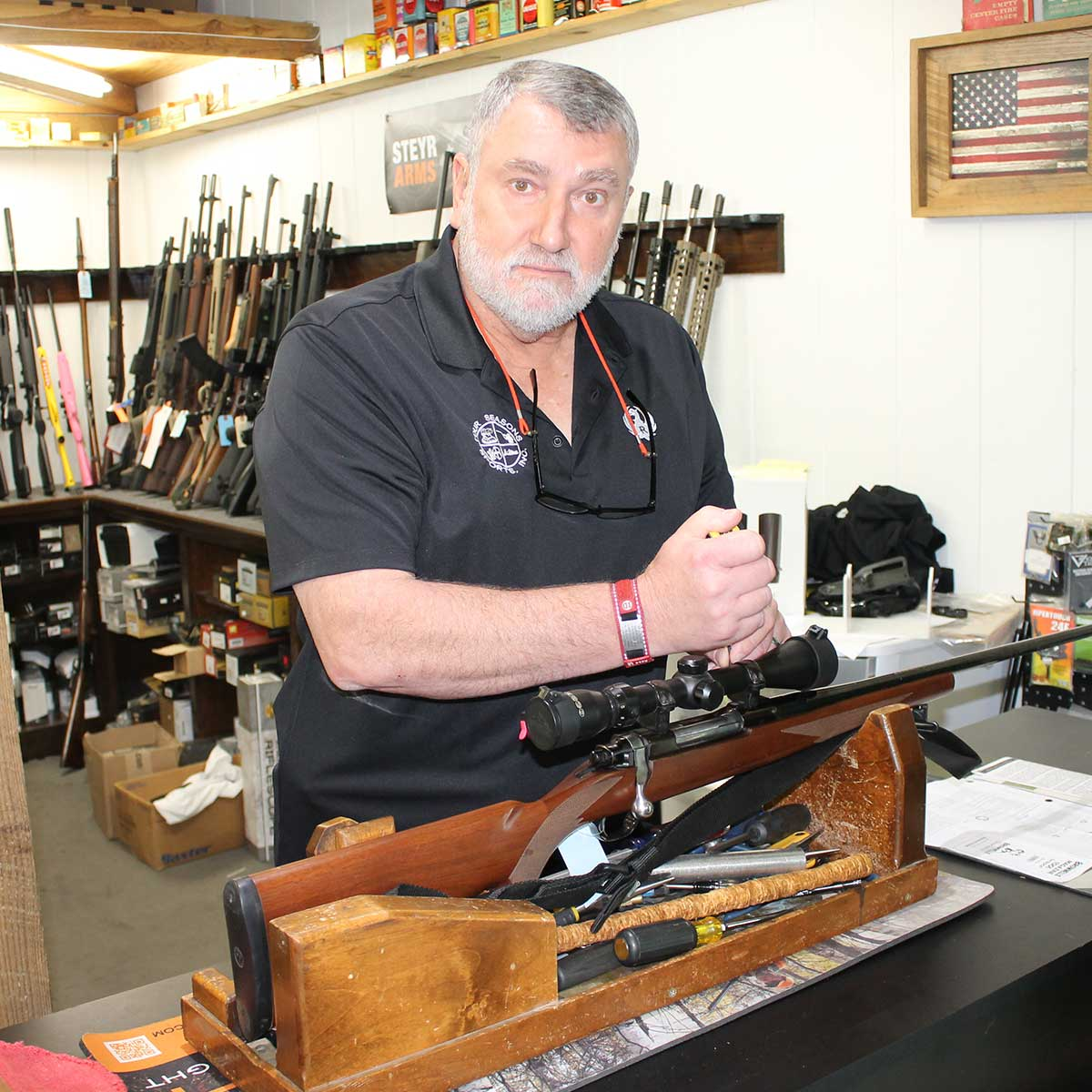 Gun Service at Four Seasons Sports