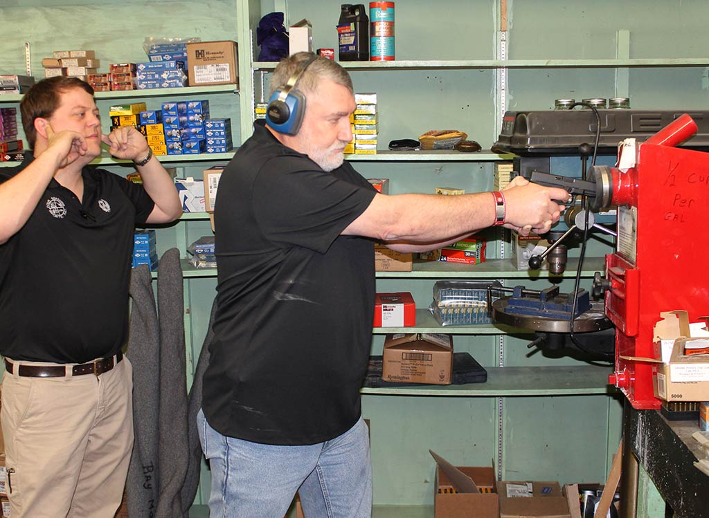 We test all our pre-owned firearms.