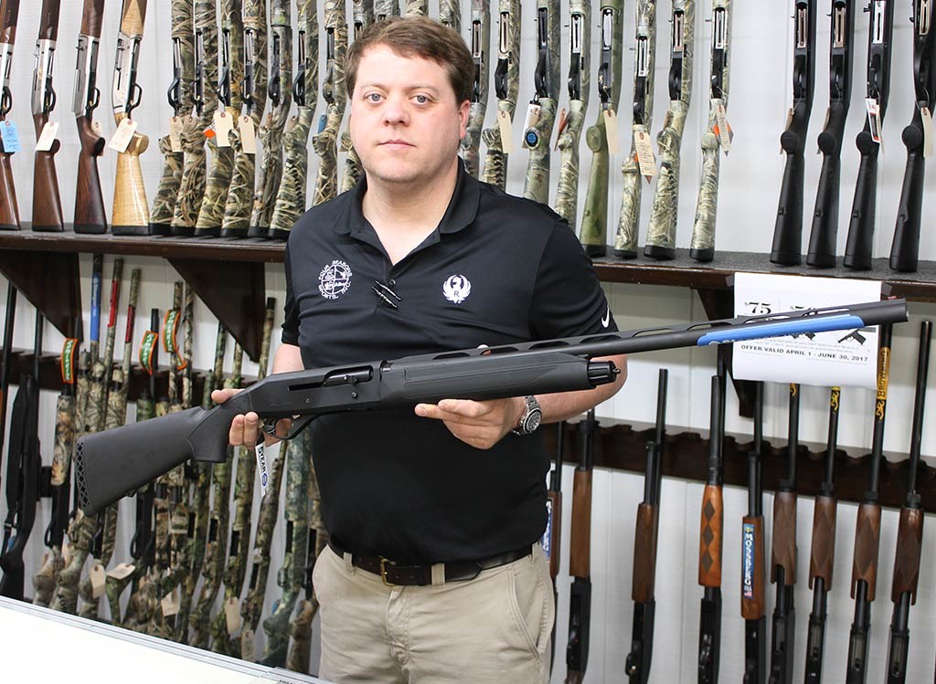 Joe with the Stoeger M3000